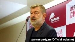 Вячеслав Мальцев на съезде партии ПАРНАС