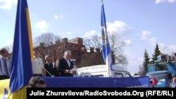 Харківські профспілки провели першотравневий мітинг. «Ні зниженню життєвого рівня громадян!»