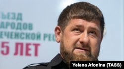 Глава Чечни Рамзан Кадыров.