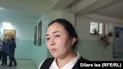 Заместитель директора по учебной работе школы №90 в Шымкенте Шахноза Сейткулова. 23 апреля 2018 года.