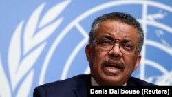 Shefi i Organizatës Botërore të Shëndetësisë,Tedros Adhanom Ghebreyesus.