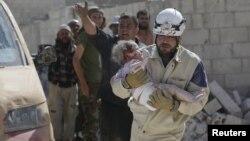 (ілюстраційне фото: жертви війни в Сирії)