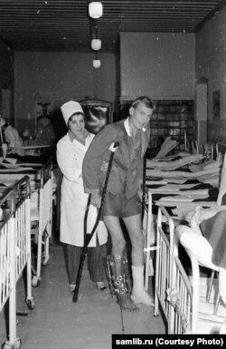Инфекционный госпиталь в Кабуле