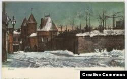 Ревель на открытке 1920-х годов