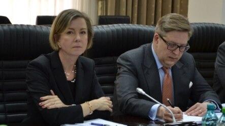 Ingrid Tirsman și Pirkka Tapiola, Chișinău, 4 martie 2015.