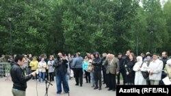 Казанда татар телен яклау митингы