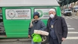 New York: An Albanian, Aleksander Nilaj gives food to poor in the time of coronavirus
