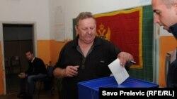 Glasanje na izborima u Crnoj Gori, 14 oktobar 2012.