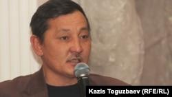 Астаналық белсенді Құрманғазы Рахметов.