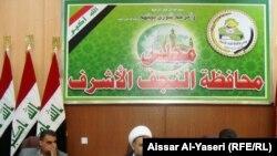 رئيس مجلس محافظة النجف الشيخ فائد كاظم نون