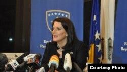 Косово президенти Атифет Яхйага.