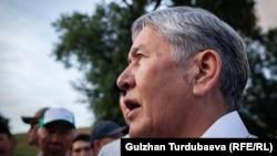 Алмазбек Атамбаев Кой-Ташта. 27 маусым 2019 жыл.
