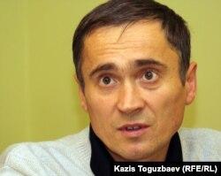 Бывший заключенный тюрьмы в Долинке Карагандинской области Александр Клеценко. Алматы, 7 ноября 2011 года.