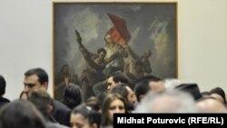 Dženan Jusufović: BiH je potpisala niz konvencija, međutim, one nisu usklađene sa zakonima (na fotografiji: sa izložbe u Umjetničkoj galeriji BiH, arhivska fotografija)