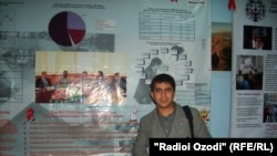 Tajikistan -- Firuz Barotov wins the 2010 Best Coverage of HIV/AIDS Problems in Media Award, undated