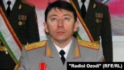 Рамил Нодиров, сардори Ситоди нерӯҳои мусаллаҳи Тоҷикистон.