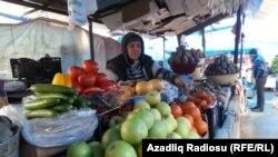 Qazax bazarı