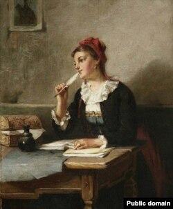 Аўгуст Мюлер, «Запіс у дзёньніку» (1885)