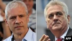 Boris Tadić i Tomislav Nikolić