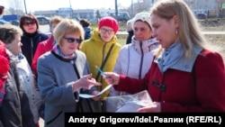 Лиана Михалёва собирает подписи