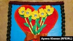 """Поделка, созданная руками Гиты для """"Дома радужного детства"""""""