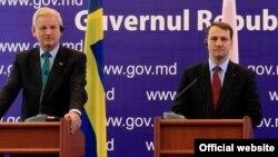 Карл Більдт і Радослав Сікорський