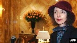 Joyce Carol Oates la Paris în 2005