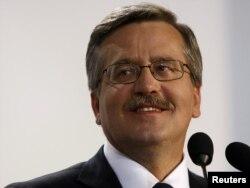 Браніслаў Камароўскі, прэзыдэнт Польшчы ў 2010–2015 гг.