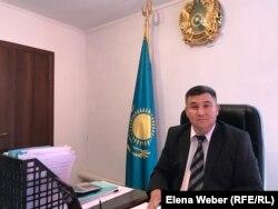 Аким поселка Жайрем Аманказы Наукенов, Карагандинская область, 20 мая 2019 года.
