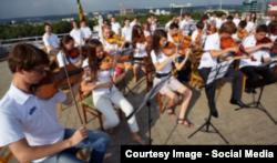 Orchestra Națională de Tineret a R. Moldova în concert la Oradea