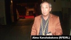 Қазақстанның халық артисі Кәрім Мұтырғанов. Алматы, 19 сәуір 2014 жыл.