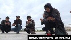 Акция поминовения жертв Голода 1930-х годов и жертв политический репрессий. Астана, 31 мая 2018 года.