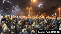 Romania, in Bucharest new protest
