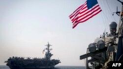 Flota americană care participă la exerciții comune cu Japonia