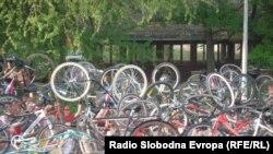 Novosađani na biciklima, foto: Norbert Šinković