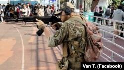 Ван Т. Пхам, В'єтнам, який вболіває за українське військо