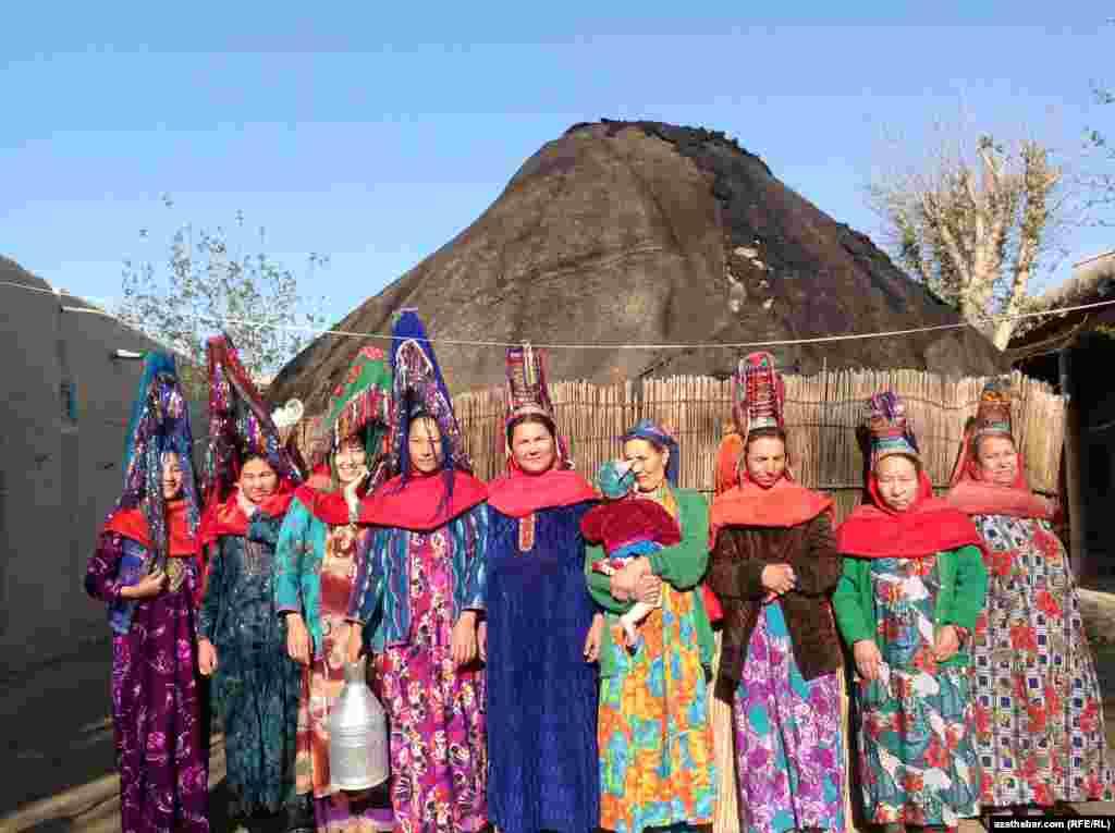 Afghanistan -- Ethnic Turkmens in Jouzjan province, 02Apr2013.