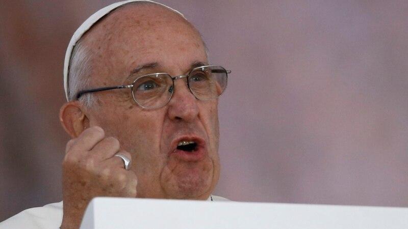 папа римский франциск призвал помогать пострадавшим морозов