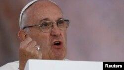 Римера Папа Франциск (Pope Francis), 2016.
