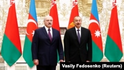 Բելառուսի նախագահ Ալեքսանդր Լուկաշենկո և Ադրբեջանի նախագահ Իլհամ Ալիև, արխիվ