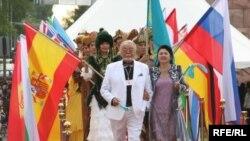 Қазақстанның Еуразия халықаралық кино ефстивалінің ашылу салтанаты. 2009 жыл