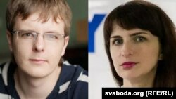 Арцём Сарокін і Кацярына Барысевіч