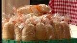 Храна, а не оружје во Скопје