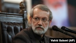 Iranian Parliament Speaker Ali Larijani was Tehran's former chief nuclear negotiator.