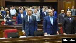 Armenia - The parliamentary faction of the Prosperous Armenia Party, Yerevan, 8Sept2014.