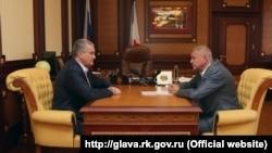 Сергей Аксенов и Игорь Сотов