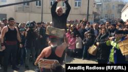 """Novruz, kabab və """"kubik""""- [Fotolar]"""
