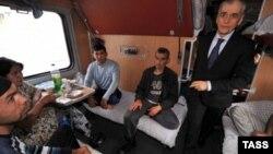 Г.Онишенко, масъули беҳдошти Русия дохили қатори Душанбе-Маскавро месанҷад