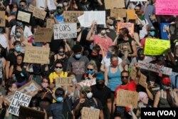 Протесты в Миннеаполисе, США