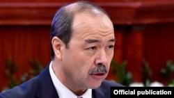 Ўзбекистон Республикаси бош вазири Абдулла Арипов.